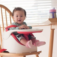 【JellyMom】韓國製全新設計多功能組合式幫寶椅/兒童用餐椅(亮麗紅)
