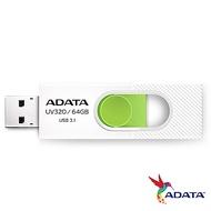 ADATA威剛 UV320 64GB USB3.1隨身碟(白)