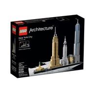 21028【LEGO 樂高積木】ARCHITECTURE世界建築系列-New York City