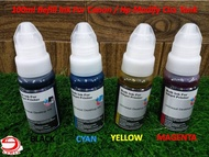 100ml Refill Ink For Canon Pixma E510/E600/E610/E560/E3170/E3177/E400/E410 Inkjet Printer Cartridges with Syring Tools