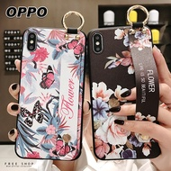 Free Shop 歐珀 OPPO R17/R15/R11/R9S/A3/AX5 可愛動物清新碎花腕帶支架手機殼【QAHF31067】