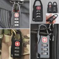แบบพกพาล็อคกุญแจกลางแจ้งกระเป๋าเดินทางกระเป๋าเป้สะพายหลังกระเป๋าถือปลอดภัยป้องกันการโ...