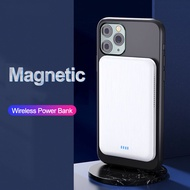 Genuine productsCASEIER Wireless Charger 4000mAh Mini Portable Magnetic Power Bank For iPhone 12 Ex