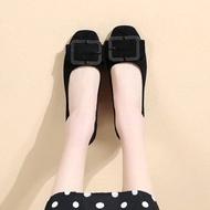 !!ลดกระหน่ำ!!  รองเท้าคัชชู รองเท้าส้นเตี้ย รองเท้าส้นแบน รองเท้าผู้หญิง รองเท้าทำงาน รองเท้าบัลเล่ต์ รองเท้าหุ้มส้น รองเท้าแบบสวม