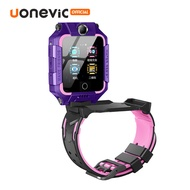 [ลดราคา]Uonevic นาฬิกาโทรศัพท์ T10 Smartwatch 4G-360 ° หมุนร่างกายด้านหน้าด้านหลังกล้องคู่วิดีโอโทร GPS + WiFi,กล้องเด็กดูสมาร์ท,PK นาฬิกาไอโม่z6แท้