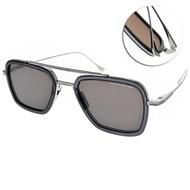 DITA 太陽眼鏡 鋼鐵人配戴款/透灰-槍銀-灰鏡片#DITA7806G SMK-PLD