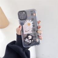 ของแท้ร้อยเปอร์เซ็นต Apple iphone anti-fall protective case GDdaisy iphone case black side iphone11Promax