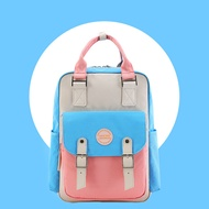 TINYAT โรงเรียนกันน้ำกระเป๋าเป้สะพายหลัง 14.9 วิทยาลัยกระเป๋าเดินทางวินเทจสำหรับผู้หญิง14 นิ้วแล็ปท็อปสำหรับนักเรียน