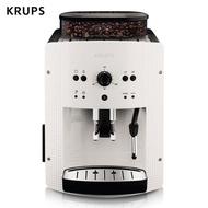 克魯伯KRUPS咖啡機 歐洲原裝進口意式家用商用全自動現磨豆自帶奶泡器 EA810580小米白
