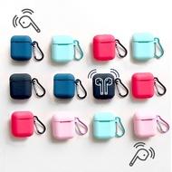 「現貨快出」Airpods矽膠保護套 防摔套 保護 矽膠防摔套 保護套 PodFit Air Pods 耳機套 防滑