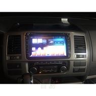Volkswagen福斯 GOLF Caravell PASSAT Vento T5 汽車音響安卓機 觸控螢幕 衛星導航