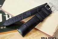 TINA TIMES~法國首席配件_ZRC美洲短吻鱷魚錶帶 _世界前三大錶帶廠 真鱷魚皮手工錶帶 20mm