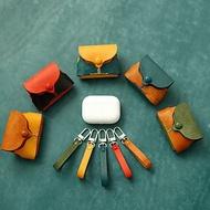 【切线派】airpods pro保护套 复古植鞣革苹果耳机保护套