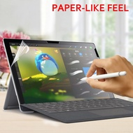 Paper Like Screen Protector Film Matte PET Anti Glare Painting For Microsoft Surface Surface Go 2 Surface Go 1 Pro 3 4 5 6 Go Book 1 2 13.5 15inch