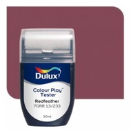 Dulux Colour Play Tester Redfeather 70RR 13/233