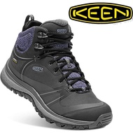 KEEN 登山鞋/休閒鞋/中筒防水健行鞋 Terradora Pulse MID WP 女款 1018018 黑/苺紫