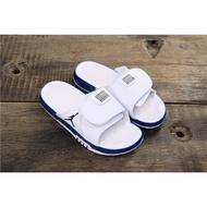 Air Jordan Hydro 11涼拖鞋白色藍色