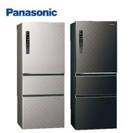 Panasonic國際牌 610公升 無邊框鋼板 變頻三門電冰箱 (銀河灰) NR-C610HV-S