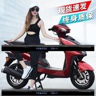 踏板摩托車尚領125cc可上牌改裝鬼火復古雙人座燃油助力車街車