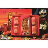 【野味食品】四季雅撰15(日本北海道M級干貝柱+一吉膳元貝XO醬+一吉膳香菇XO醬罐頭)(附贈年節禮盒、禮袋)春節禮盒