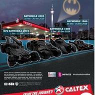 Caltex Batmobile Batman Collection/ Caltex DC Batman 80 Years Batmobile 2015 2005 1989 1966 Exclusive (1pc) DkoP