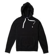 【RALPH LAUREN】Polo Ralph Lauren 年度熱銷經典刺繡小馬鋪棉連帽T恤-黑色