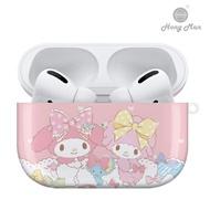 SANRIO三麗鷗系列 Airpods Pro耳機保護套 美樂蒂 緞帶甜心 My Melody(iphone無線耳機第三代)