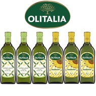 【Olitalia奧利塔】精緻橄欖油+葵花油禮盒組(1000mlx2瓶 x 3組)