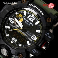 (In stock) Original G Shock GWG-10000-1A3 MUDMASTER series analog digital Watch for men men's sports waterproof shockproof Watch for men double belt time GWG-1000/GWG1000