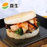 【喜生米漢堡】素鮮蔬米漢堡(3入1包)