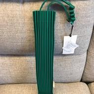 日本三宅一生 樹枝包 手提包 深綠色
