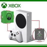 Microsoft 微軟 Xbox Series S 台灣專用機 + XBOX Game Pass Ultimate 3個月 +XBOX ONE立體聲耳機