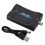 HDMI TO BNC轉換器 hdmi轉bnc視頻轉接頭 支援PAL/NTSC兩種不同格式