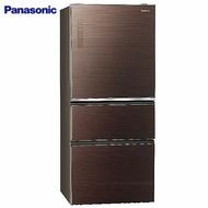 【感恩有禮賞】Panasonic 國際 NR-C610NHGS-T 冰箱 610L 三門 翡翠棕 變頻無邊框玻璃系列