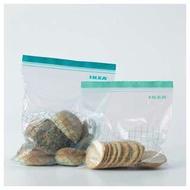IKEA💥現貨盒裝|雙層夾鏈袋食品級保鮮袋雙層密封袋 食物專用冷凍袋水果餅乾麵包防潮袋 手機 防水 costco好市多