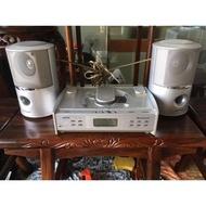 德國進口LAKE WOOD組合音響 中古電器買賣 二手家電 二手擴大機 二手影音視聽 二手喇叭組A746【晶選二手傢俱】