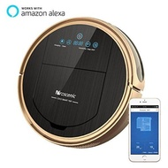 Proscenic [Upgraded Version] 790T Robot Vacuum Cleaner, Robotic Vacuum Cleaner with APP & Alexa Voice Control, Visionary Map, Water Tank and Mopping, HEPA Filtration for Pet Fur and Allergens - intl