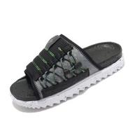 【NIKE 耐吉】拖鞋 Asuna Crater Slide 男鞋 夏日拖 輕便 環保回收材質 穿搭 黑 白(DJ4629-002)