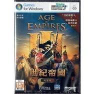 PC實體版【世紀帝國3】 完全中文版