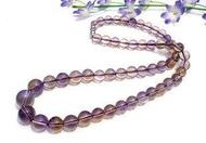 水晶項鏈 水晶紫黃晶項鏈 紫黃晶項鏈