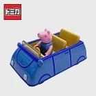 【正版授權】TOMICA 騎乘系列 喬治豬 x 家庭車 玩具車 佩佩豬/粉紅豬小妹 多美小汽車