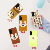 HUAWEI Mate 30 Pro P30 P40 Lite Honor V30 Case Soft Transparent 64GT Chip and Dale Phone Cover