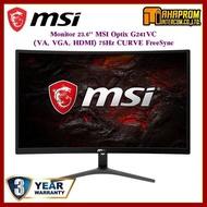 ถูกที่สุด!!! ราคาพิเศษ Monitor 23.6 MSI Optix G241VC (VA VGA HDMI) 75Hz CURVE FreeSync ##ที่ชาร์จ อุปกรณ์คอม ไร้สาย หูฟัง เคส Airpodss ลำโพง Wireless Bluetooth คอมพิวเตอร์ USB ปลั๊ก เมาท์ HDMI สายคอมพิวเตอร์