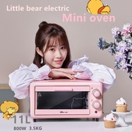 Bear electric mini electric oven 11 liter pink electric oven toaster