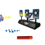 Children Electric Score Bullet Target Toy for Nerf Toys Soft Bullets Blaster (Not Include Toy Gun or Bullets)