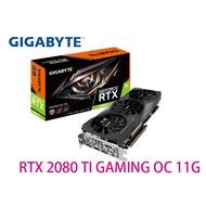技嘉 RTX 2080Ti GAMING OC 11G 顯示卡 GV-N208TGAMING OC-11GC 287mm