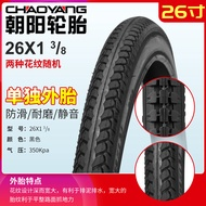 Chaoyang Bicycle Tire 26*13/8 26X1 3/8 Bicycle Inner And Outer Tire 26-Inch Tire
