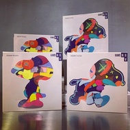 KAWS NGV Snoopy Puzzle 墨爾本展覽限定款拼圖 兩款
