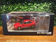 1/64 BM Creations Subaru Impreza WRX STi Red 64B0057【MGM】