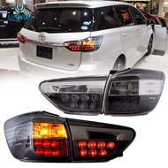 Vland Light for Toyota Wish Taillights Assembly 2009-2017 LED Tail Rear Light Lamp Second (AE20) Generation Wish Taillight Car Lights Plug & Play Rear Lamp Turn Signal Reverse Brake Light Tail lamp Toyota Taillights